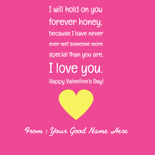 valentine day quote valentine day images with name