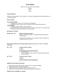Resume Builder Templates Resume Templates Builder