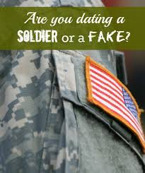 soldier dating scam Married to the Army