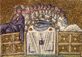 mosaico di Sant'Appollinare dell'ultima cena