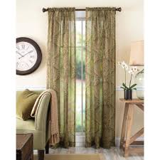 better homes and gardens tapestry sheer curtain panel walmart com