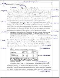 a research paper apa style FAMU Online