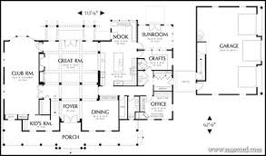 Sunroom Floor Plans by Top 3 Multigenerational House Plans Build A Multigenerational