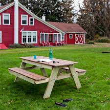 Building Plans For Picnic Table Bench by Picnic Table Plans How To Build A Picnic Table