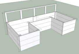ana white dynamic raised garden bed plans diy projects