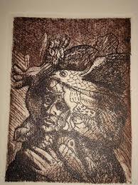 Obra del Maestro Colombo-Peruano Armando Villegas la técnica es Agua Fuerte, las medidas son 15x11 cm, son 6 profetas guerreros y fueron hechos ... - 6413821484301996