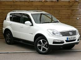 used 2017 ssangyong rexton w 2 2 ex 5dr tip auto ex demonstrator