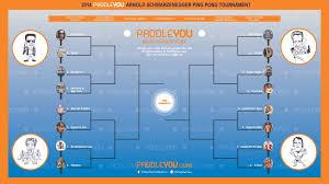 Table Tennis Tournament by Paddleyou Com U0027s Arnold Schwarzenegger Ping Pong Tournament