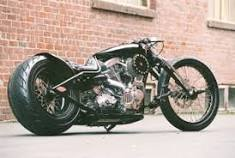 Hot Rod From Ashcroft Motorcycles