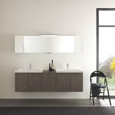 futuristic small bathroom ideas highlighting white lacquer wooden