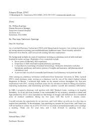 sample cover letter for pharmacy assistant   Template Template