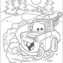 mater coloring pages hellokids