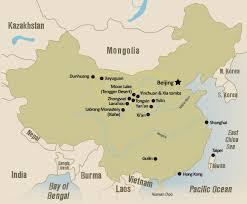 China Google Maps by Hidden Treasures Of Central China Ningxia Shanxi Gansu