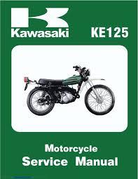 kawasaki service manual 1974 ks125 1975 ks125a 1976 ke125 a3