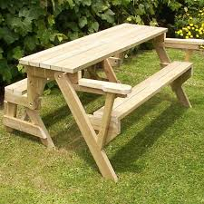 Free Wooden Picnic Table Plans by 14 Best Folding Picnic Tables Images On Pinterest Picnic Tables