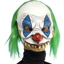 amazon com forum novelties 60199 scary clown mask toys u0026 games