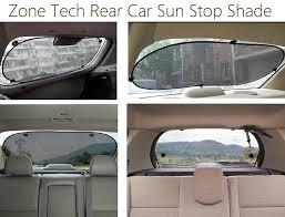 zone tech clear car sun stop shade premium quality mesh rear