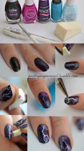 3 very easy water marble nail art step by step tutorial youtube