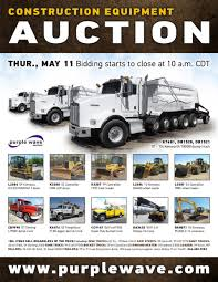 sold may 11 construction equipment auction purplewave inc