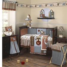 Monkey Crib Set Style Of Baby Boy Crib Bedding Sets Home Decorations Ideas