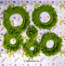 christmas decorations to make at home christmas crafts woolen christmas tree craft ideas