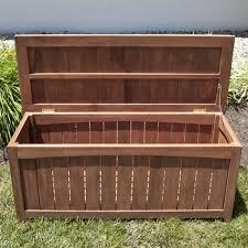 4 ft teak outdoor backless storage bench outdoor