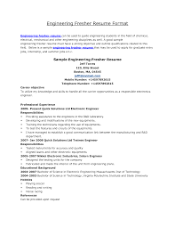 Resume Samples Electrical Engineering by Mechanical Engineering Resume Career Objective Sample Refference
