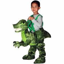 Baby Halloween Costumes Walmart Green Dino Rider Toddler Halloween Costume Walmart