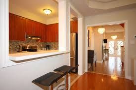 semi open concept kitchen the wall is load bearing we could