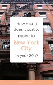 How Much Does An Apartment Cost How Much Does It Cost To Move To Nyc In Your 20s Crafty Coin