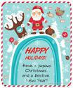 Glitter วันคริสต์มาส น่ารัก ต้อนรับซานต้า โฮ๊ะ โฮ๊ะ...