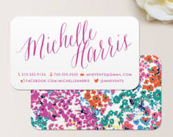 Calling Business Cards Manicurist Business Card Calling Card Mommy Card Contact