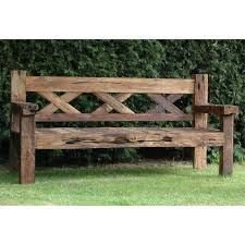 Building Outdoor Wood Furniture by Best 25 Rustic Outdoor Furniture Ideas On Pinterest Furniture