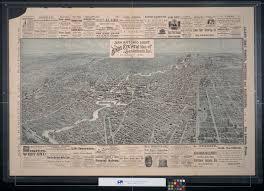 San Antonio Texas Map Bird U0027s Eye View Map Of San Antonio Tex The Portal To Texas History
