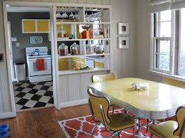 Red White And Black Kitchen Ideas Kitchen Style Retro Kitchen Ideas Black And White Floor Tile