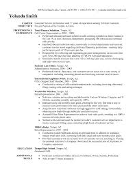 Cosmetologist Resume Objective Objective In Resume For Customer Service Representative Resume