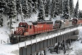 the snow diorama model railroad hobbyist magazine having fun