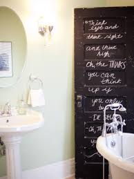 transform your bathroom with diy decor hgtv