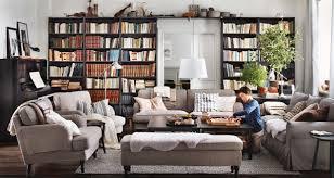 Living Room Design Ideas With Grey Sofa Bookshelf Stunning Living Room Bookshelves Wonderful Living Room