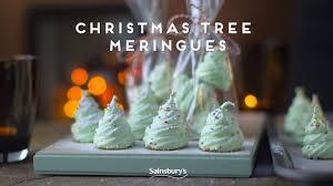 christmas tree meringues edible gifts youtube