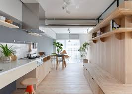 Two Apartments In Modern Minimalist Japanese Style Includes Floor - Japan modern interior design
