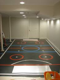 creating a hockey rink in a renovated basement there u0027s a hockey