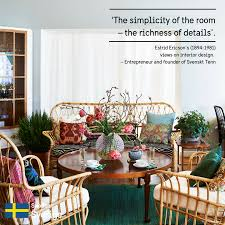 Interior Design Quotes by Estrid Ericson Quote And Svenskt Tenn Sharing Sweden