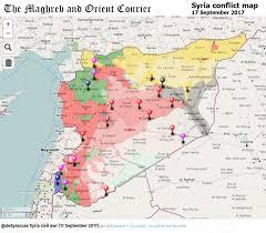 Syria Map War by Agathocle Desyracuse Desyracuse Twitter