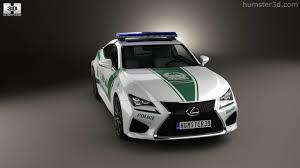 lexus deals dubai 360 view of lexus rc f police dubai 2015 3d model hum3d store