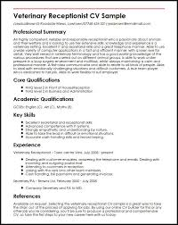 Veterinary Resumes And Cover Letters  cover letter sample resume     Resume Template   Essay Sample Free Essay Sample Free