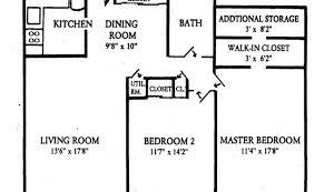Two Bedroom Apartment Floor Plans 23 Wonderful Two Bedroom Floor Plans Architecture Plans 27907