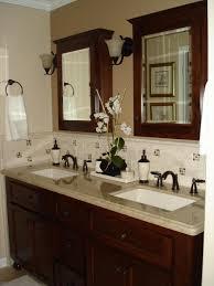 Bathroom Backsplash Ideas by Bathroom Sink Backsplash Ideas Bathroom Having Round Metal Long