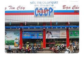 Mượn danh Siêu thị Co.op Mart bán hàng tại Đồng Xuân .
