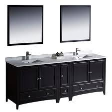 Bathroom Vanity Double by Fresca Bath Fvn20 361236es Oxford 84